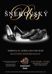 Nezapomeňte – Šnekovský ples již 24.1.2015!!! Podpořte nás!!!
